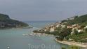 Portovenere - отсюда мы отплыли на катере в направлении Riomaggiore. Из-за шторма катер не смог причалить в Riomaggiore и нам пришлось плыть  до Monterosso ...