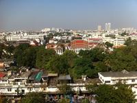 Вид на Бангкок с Храма Ват Сакет