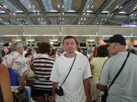25 декабря 2010. Бангкок. аэропорт Суварнабуми.