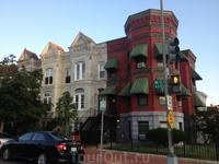 Типичный домик в Вашингтоне