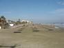 январь...один из пляжей Ларнаки (рядом с аэропортом)...туристов нет...