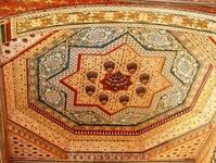 Расписные потолки дворца Бахия - и это все натуральные краски!