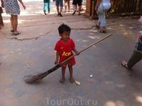 Молодое поколение Камбоджи