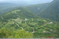 Новый Афон, вид с Иверской горы
