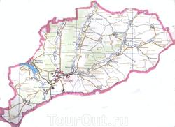 Карта Шебекино и Шебекинского района