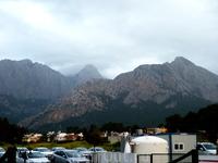 Вид на горы из отеля в  Кемере