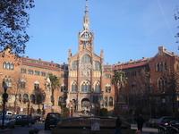 Barselona, Hospital de la Santa Creu i Sant Pau