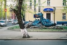 Иркутск, скульптура.