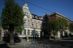 Здание музыкальной школы в Черняховске. Опознать ее можно было по доносившимся звукам из открытого окна :) Здание старинной немецкой постройки