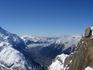 Долина Шамони с высоты птичьего полета (или лыжного старта)