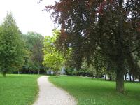 В парке Тоскана (Toskanapark)