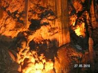 один из уголков пещеры (джип-сафари)