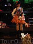 Дама-кукла на Walking street