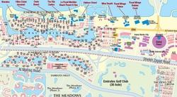 Карта Дубаи с достопримечательностями
