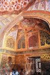 Роспись на стенах усыпальниц Акбара Великого в Сикандре, пригород Агры