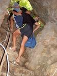 Выход из Скельской пещеры