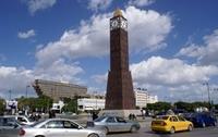 Тунисская башня с часами