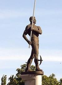 Памятник Сергею Бубке