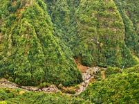 Вид с Pico Alto. Экологический парк Фуншала.