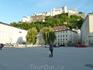 Вид на крепость Хоэнзальцбург