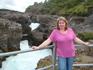 """Детский водопад Барнафосс.  Его название """"Водопад детей"""" произошло от несчастного случая, который, как говорят, имел место в глубокую старину. Однажды ..."""