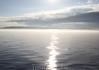 Первые лучи солнца на Ладожском озере