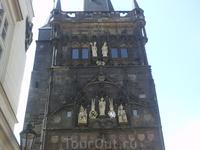 Верхняя часть Малосторонней башни