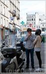 Монмартр,фотоохота телевиком:улицы Парижа