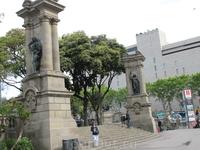 Центральная площадь в Барселоне