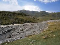 плато Эммануэль,  и очень коварная речка