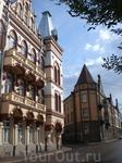 Красивые фасады зданий