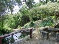 Пройдя еще чуть вперед по дороге я наткнулась на табличку с названием парк La Fuensanta. Оказалось, что это тихое место со столиками, водопадиками, местами ...