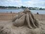 пляж на р. Волхов