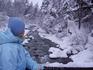 Горная речка,которая встретиласьна пути к источнику с минеральной водой.А водичку мы там пили каждый день!