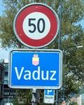 Въезд в Вадуц
