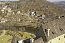 Вид со смотровой площадки крепости.