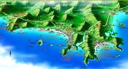Карта Саньи
