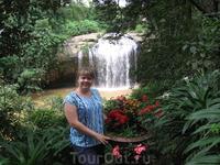 у водопада Prenn