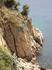 """такой вот вид и """"подход"""" с другой стороны крепости... зато там хороший пляж) нет волн и почище, чем на пологом... скалисто? да...) но купаться там нам ..."""