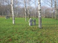 Коростель. На немецком воинском кладбище