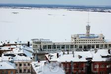 Волга. Речной вокзал