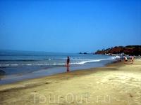 бескрайние пустые пляжи
