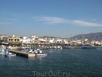 порт города Кардамена