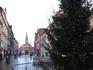 Одна из площадей города.