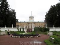 Главный дворец. Вид с нижней террасы