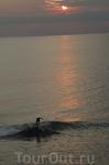 На серфе по лунной (точнее солнечной) дорожке