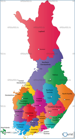 карта финляндии скачать - фото 10