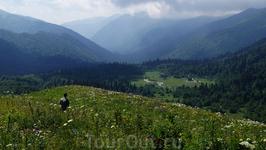 Вид на Фиштинскую поляну