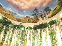 потолок в холе