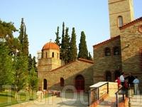 Салоники. Церковь в центре города